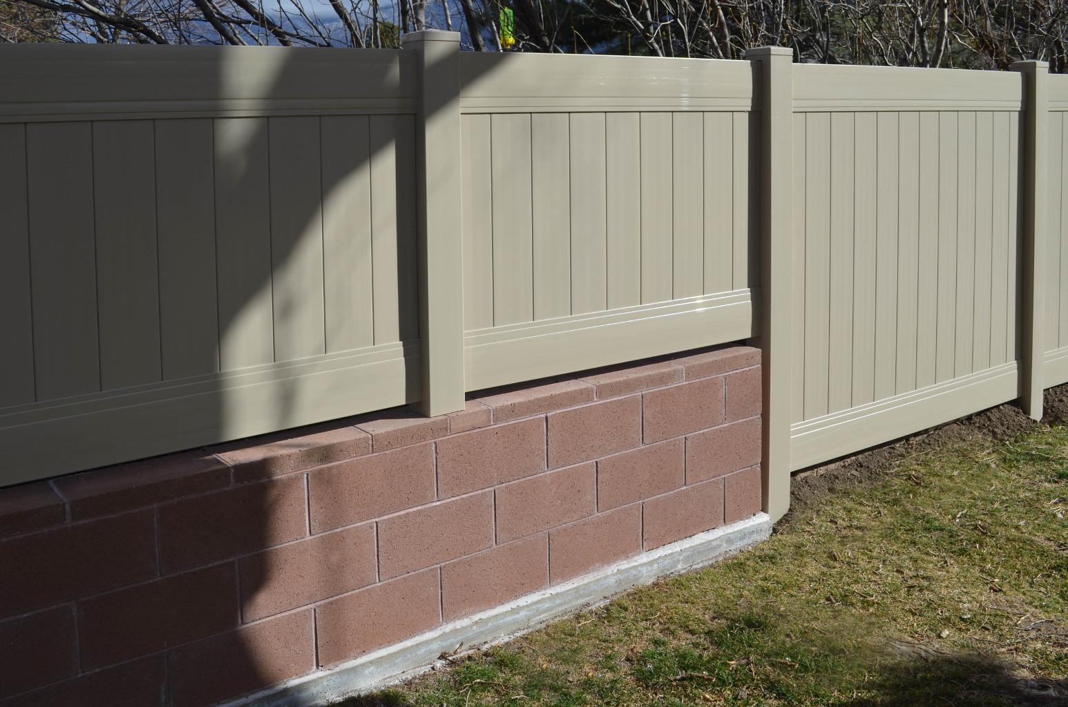 Singleton Fence Block Fence