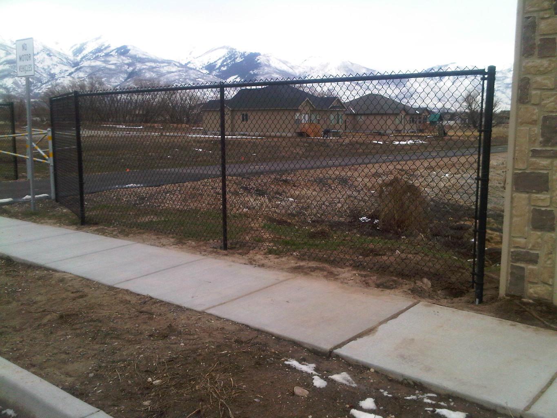 Singleton Fence : Chain Link