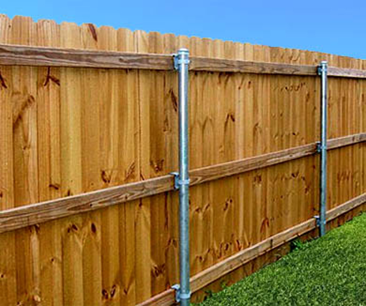 how to build a dog fence with wood