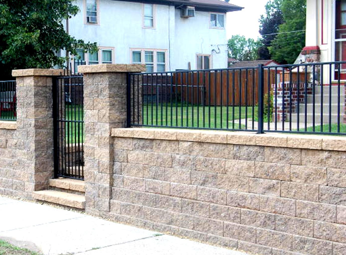 Singleton Fence : Block Fence